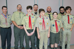 Our Boy Scout Troop