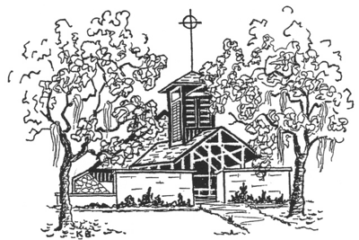 St. Andrews Episcopal Church Drawing